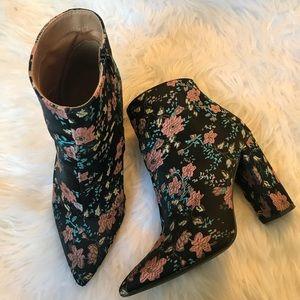 Flower booties